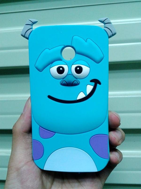 Cute Cartoon Sulley design Soft Rubber 3D Silicone Cover Case Motorola MOTO E XT1022 XT1021 XT1025 - Made In China Centre store
