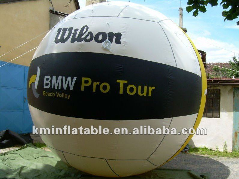 free shipping 10ft 3m dia giant inflatable Volleyball(China (Mainland))