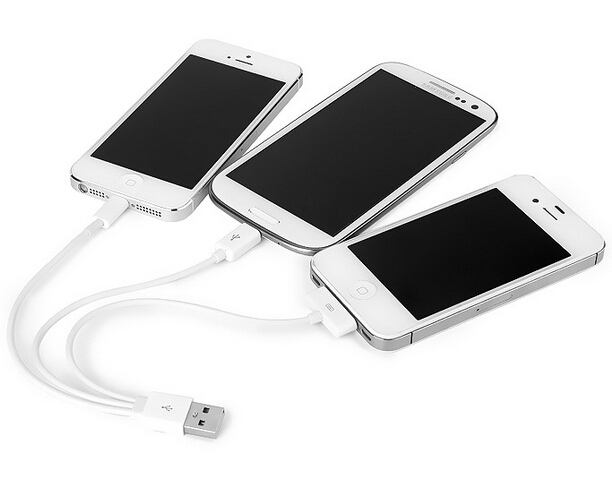 3 in1 Charger Cable Charging Adapter Carregador Cobo for Apple iPhone5 5 5s 4 4s 6 Sumsung Tab and All Mirco USB Charger(China (Mainland))
