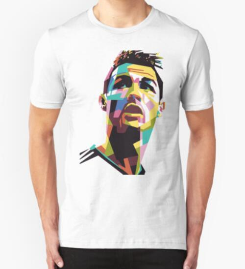 Fashion Men 39 S T Shirts Ronaldo Football Cool T Shirt Cr7