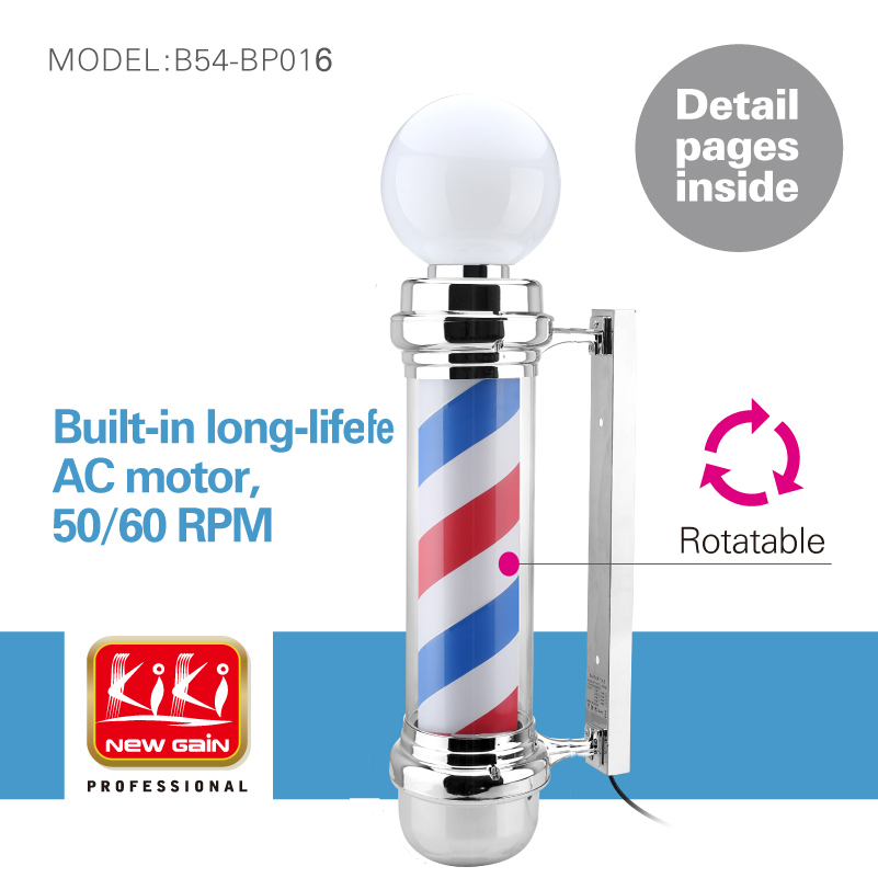 338d size salon equipment barber sign pole free shipping for Sell salon equipment
