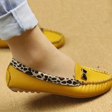 Prezzo più basso!  Nuovo arrivo 2015 molla di modo e l'autunno appartamenti per le donne piatte scarpe tacco leopardo flats scarpe donna spedizione gratuita(China (Mainland))