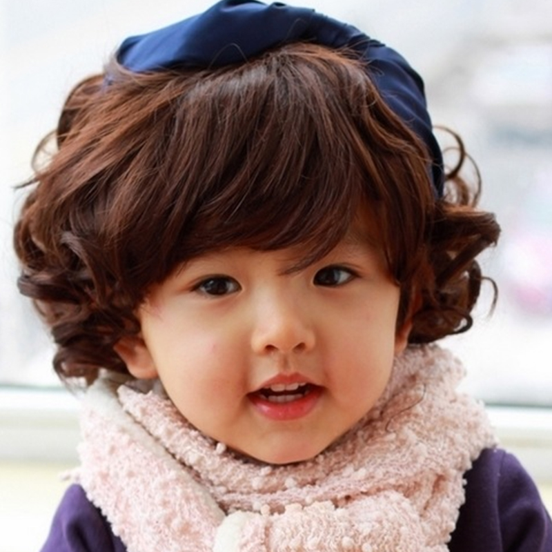 Professional Photography Of Children Cool Baby Boy Curly Short Hair Wig Cute Brown Black Childrens Wig<br><br>Aliexpress