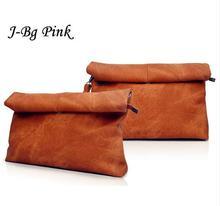 Ms. Clutch 2016 new designer fashion personality suede shoulder bag envelope bag casual curling retro style handbag gift bag