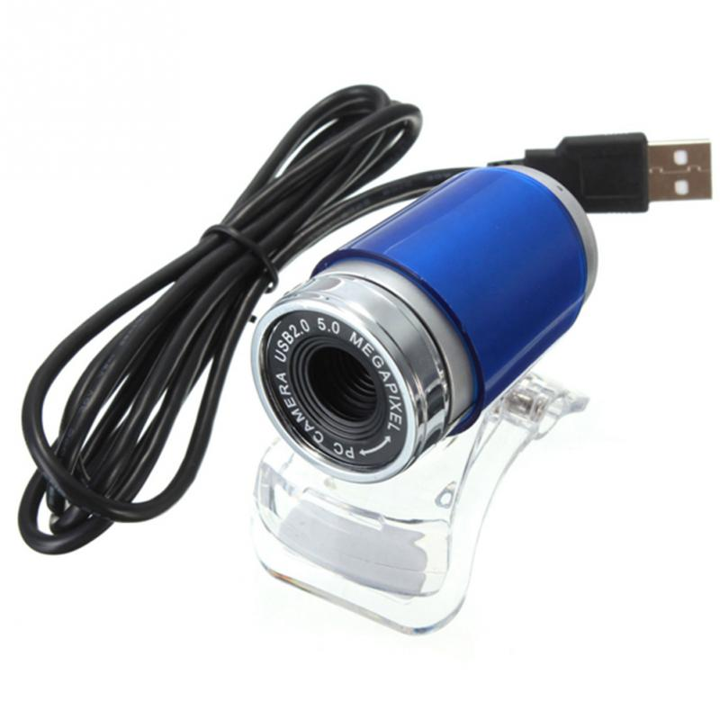 HD 0.8Mega USB Webcam HD Web Camera With Microphone 1.2M USB Cable For Laptop&desktop Computer Brand New(China (Mainland))