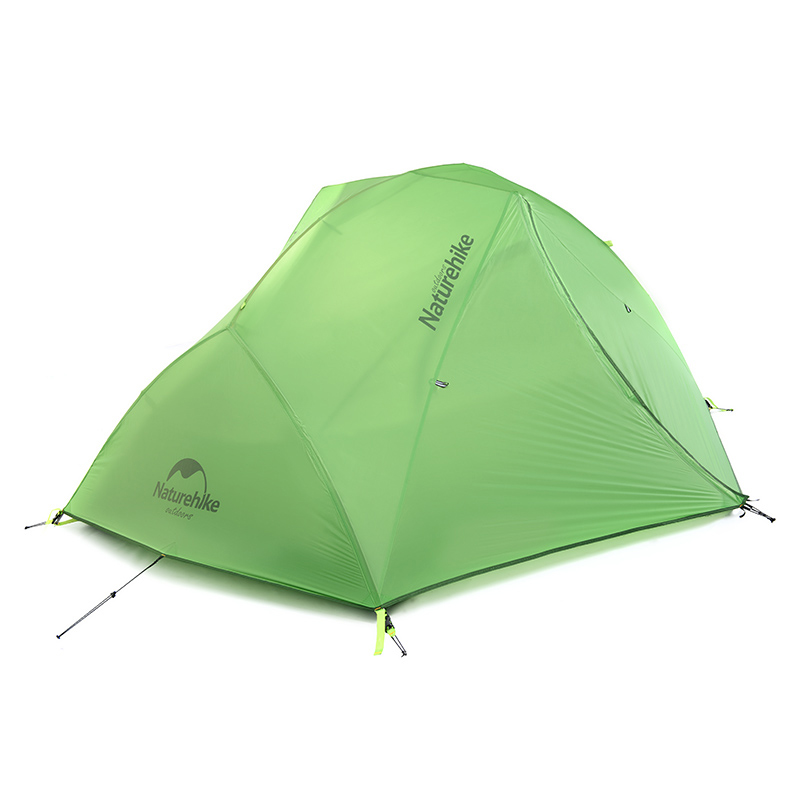 Naturehike 2 Person Double Layers Tent Ultralight Waterproof Camping Tent 4 Season Tent(China (Mainland))