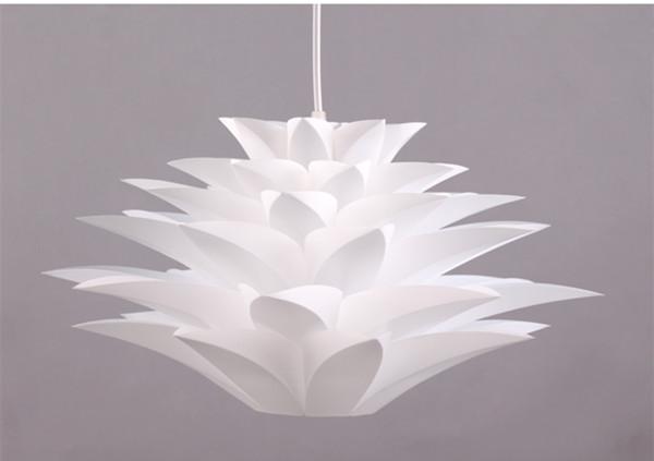 promotion 50cm Acrylic Shade Pendant Light contemporary light Lighting bedroom lamp light White Lamp(China (Mainland))
