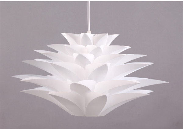 promotion 50cm Acrylic Shade Pendant Light contemporary light Lighting bedroom lamp light White Lamp(China (Mainland))