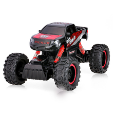 Buy 2017 New remote control Rock Crawler car 1:14 scale 2.4G 2CH rc electric toy climbing truck Off-road RC Car LED Light for $60.30 in AliExpress store