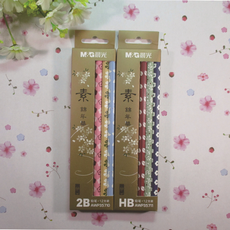 New Design 12pcs Standard 2B/HB Wooden Art Drawing Hexagon Pencils For School Office,Smooth Writing Painting Pencil Stationery(China (Mainland))