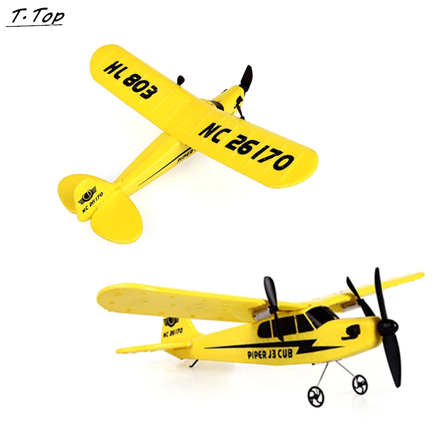 HL-803 Outdoor Electric 2 CH Foam Remote Control RC Plane 150m Distance Toys For Kids Children Gift(China (Mainland))