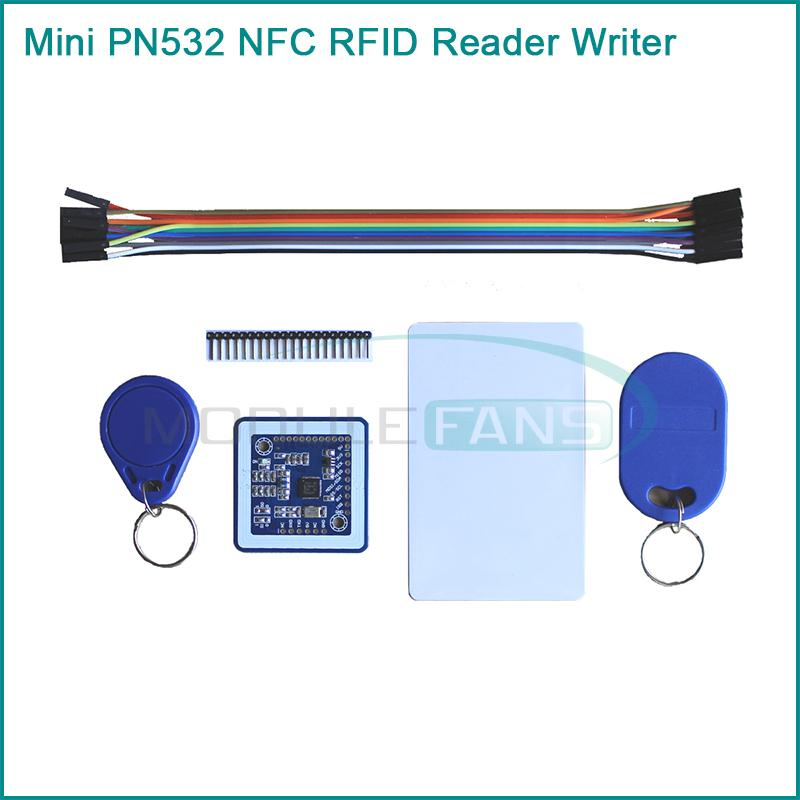 Mini PN532 NFC RFID Reader/Writer Module For Arduino/ Android Phone(China (Mainland))