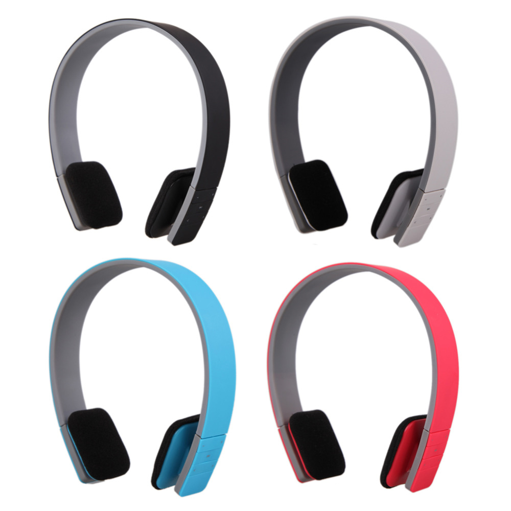 High Quality  Noise Reduction Wireless Bluetooth Stereo Headphones 4 Colors Earphone Headset with MIC and Microphone Function<br><br>Aliexpress