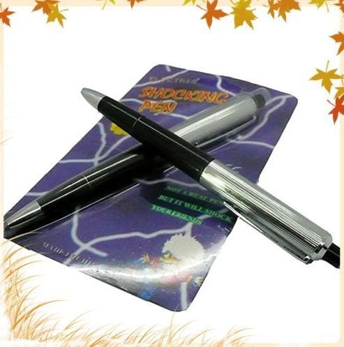 5pc/lot Shocking pen,New shock gag pen,Shocker novelty TY012