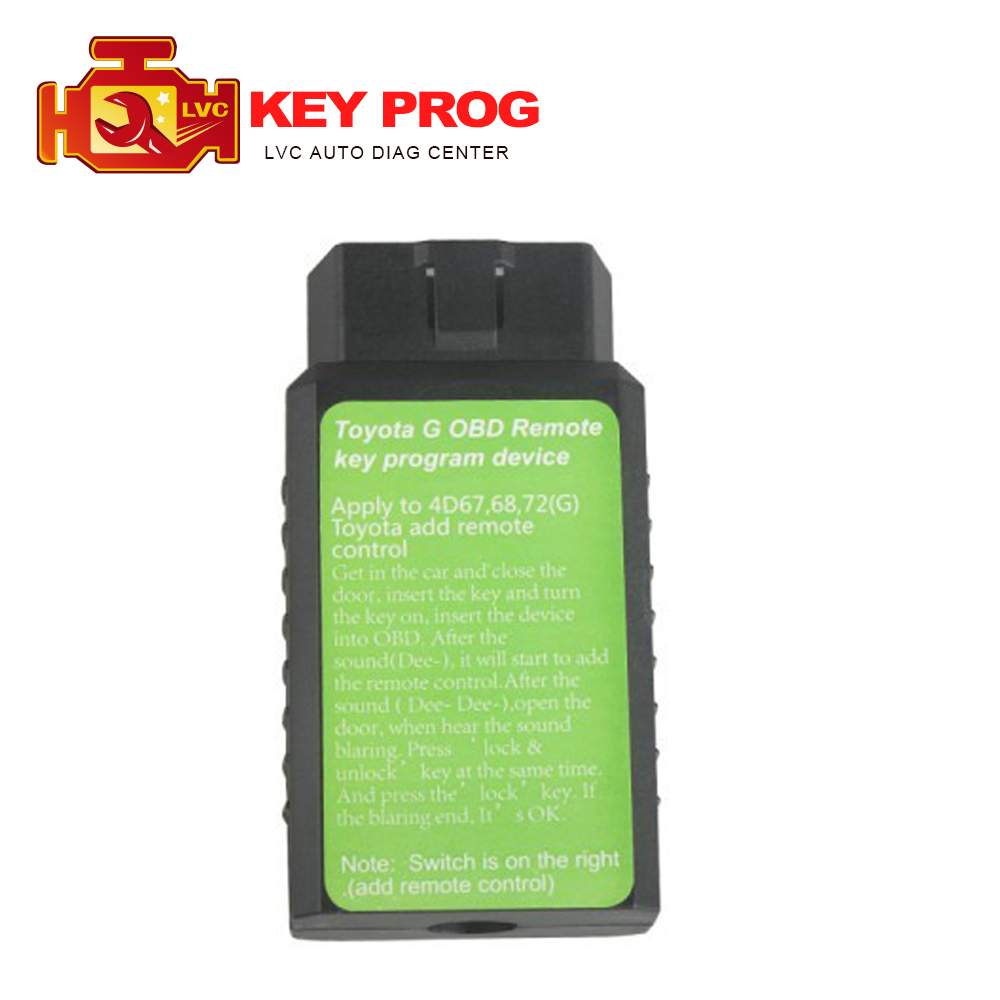 High Quality Toyorta G OBD remote key programmer For Toyota G and for Toyota H Chip Vehicle Toyota Key Programmer free shipping(China (Mainland))