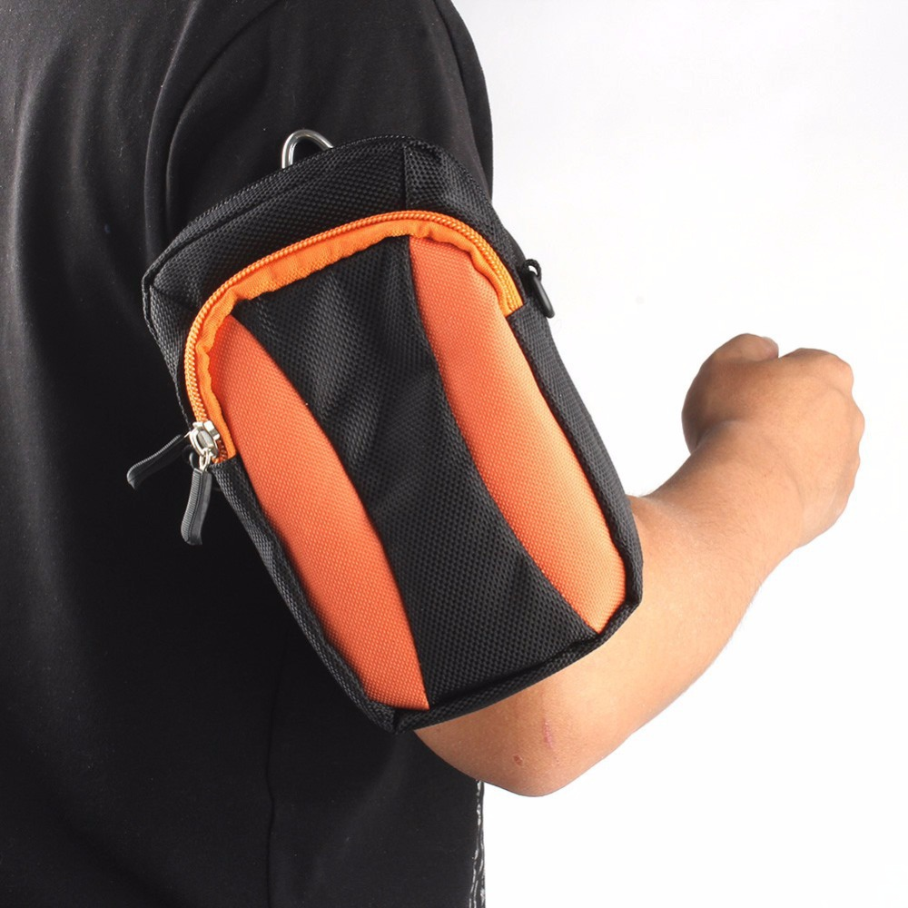 Running Jogging Sports Gym Keys Money Pouch Arm Wrist Bag Case For Samsung Phone(China (Mainland))
