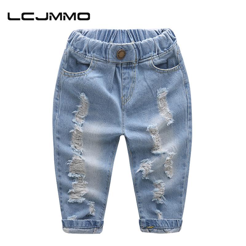 Acquista all ingrosso online ragazzi jeans strappati da