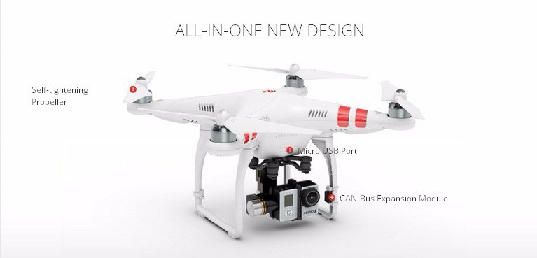 DJI Phantom 2 Quadcopter RTF Combo + Zenmuse H3-3D 3-axis Gimbal FPV RC Toys Radio Remote Control Professional Helicopter Drones