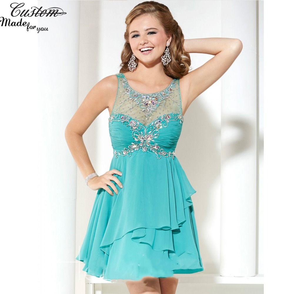 Popular Pretty Turquoise Prom Dresses-Buy Cheap Pretty Turquoise ...