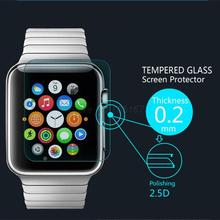 Ultra Thin 0.2mm Premium Explosion-Proof HD Tempered Glass Screen Protector Film for Apple watch 0.42MM With Retail Package