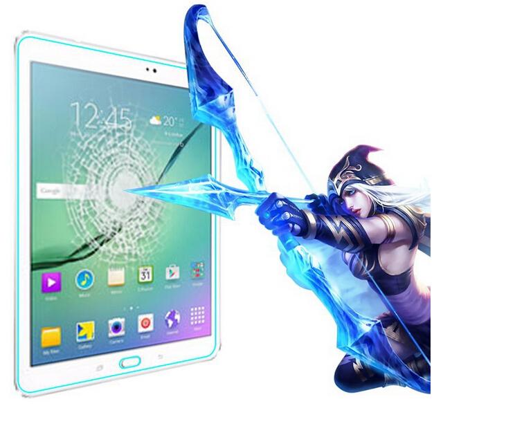 Ультра тонкий 9 9н Премиум Закаленное Стекло-Экран протектор Для Samsung GALAXY Tab 5 SM-T555 Защитная Пленка