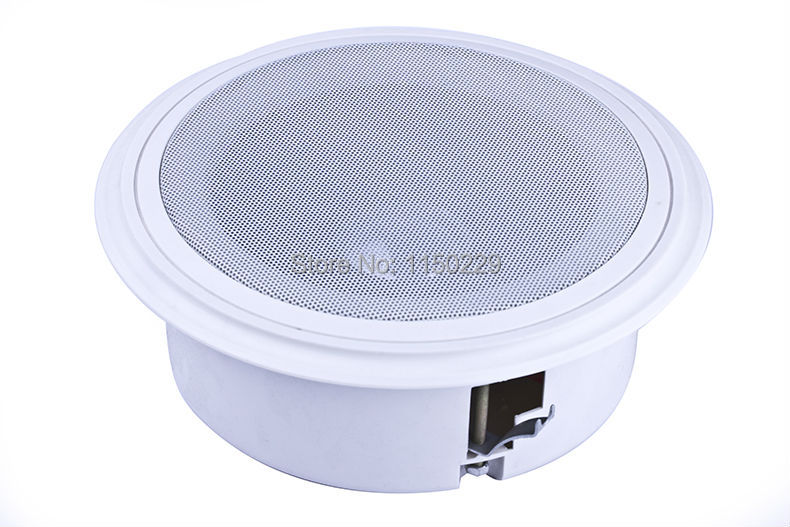 RONGYE NJ-2 Professional Background music system mp3 player In-ceiling speaker karaoke in wall speaker stereo ceiling speaker(China (Mainland))
