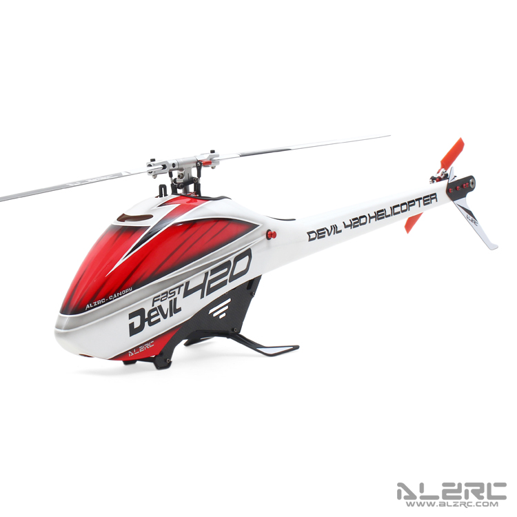 ALZRC - Devil 420 FAST FBL Supper Combo Standard 3-Axis Gyro RC Helicopter with Brushless ESC & 1000kv Motor/DM1232S Servos(China (Mainland))
