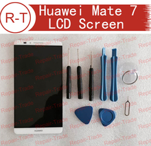100% Original High Quality LCD screen + touch screen Assembly Replacement for HUAWEI MATE 7  6″  in stock now