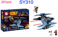 New Vulture droid fighter 1 Sets Minifigures Building Toys Star Wars special Series Blocks humanoid doll