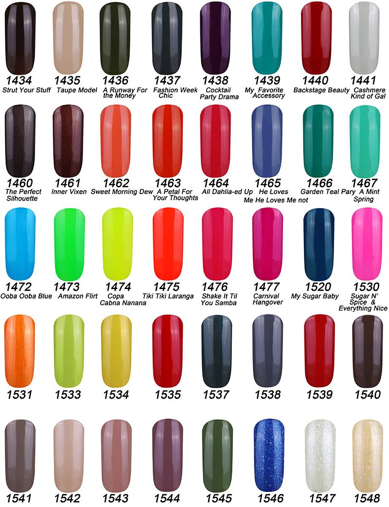 343 cores 10 ml Soak off UV prego LED Gel polonês China fabricante