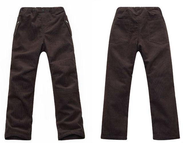 Wholesale 7 pcs autumn spring winter chocolate boy kids baby polar fleece lined pants trousers child sport pants LCDS2211
