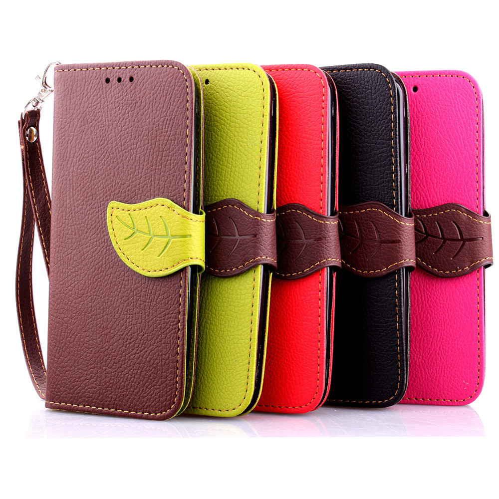 Universal Mini Phone Case for Samsung Galaxy S3 S4 S5 PU Leather Cover for iphone 4s 5s 5c 6 Flip Bag For HTC For Sony Full Case(China (Mainland))