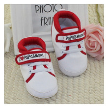 Baby Infant Kids Boy Girl Soft Sole Canvas Sneaker Toddler Newborn Shoes 0-18 M(China (Mainland))