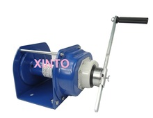 3000KG Industrial heavy duty hand winch with brake, lifting pulling manual windlass, boat automotive trailer(China (Mainland))