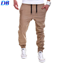 Pantaloni sportivi pantaloni nuovo 2016 outdoor hip-hop cavallo basso pantaloni sportivi yeezy boost harem pantaloni(China (Mainland))
