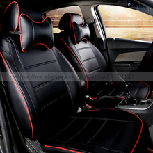 Buy New styling Luxury Dedicated Leather Car Seat Covers Front & Rear seat covers Ford focus 2 ford ka mondeo fiesta car-styling for $152.60 in AliExpress store