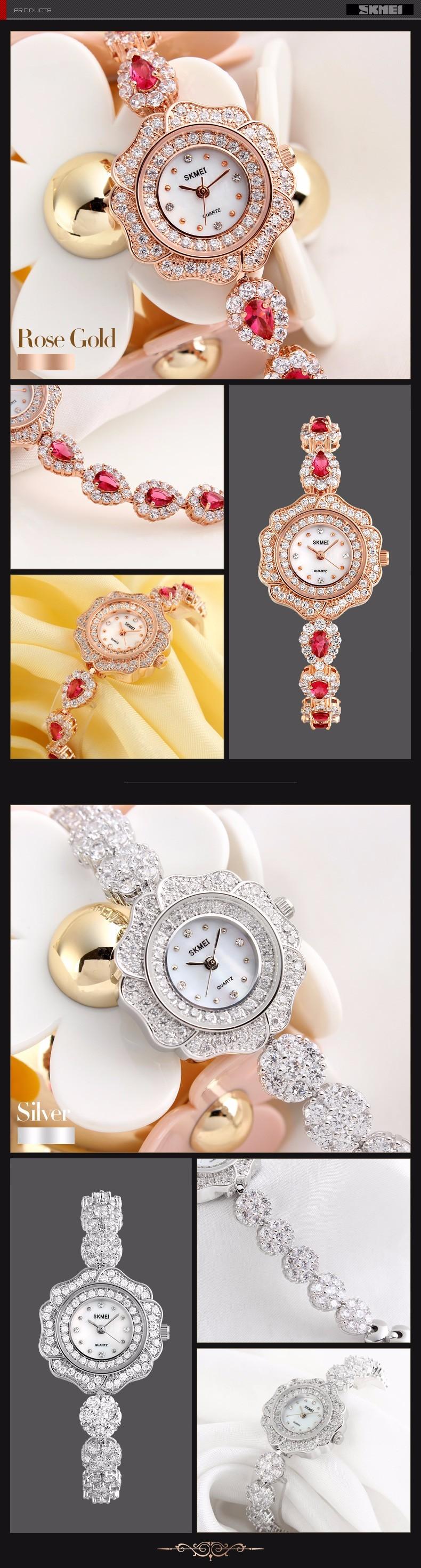 2016 Мода Кварцевые Часы Женщины Наручные Часы Дамы Наручные часы Женский Часы Кварцевые часы Relogio Feminino Montre Femme SKMEI