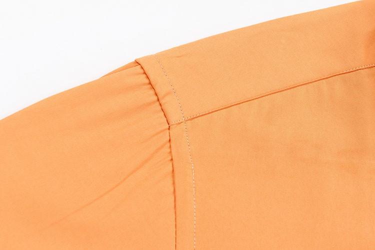 2016 Новое Прибытие мужская Без Железа Сплошной Цвет Slim Fit Рубашка С Длинным Рукавом Отложным Воротником Формальный мужской Моды Рубашки Мужские Camisas