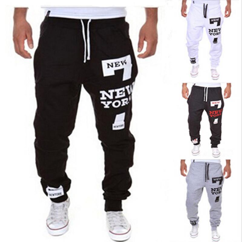 joggers 2016 mens joggers digital printing men pants fashion man sport jogging pants sports pants casual style sweatpants city(China (Mainland))