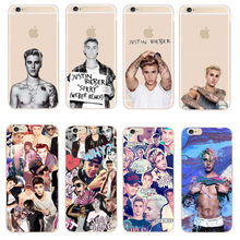 "Buy Super Star JUSTIN BIEBER Phone Cases iPhone SE 5 5S 6 6S 7 Plus Transparent Plastic Back Cover Coque iPhone 7Plus 5.5"" for $1.01 in AliExpress store"