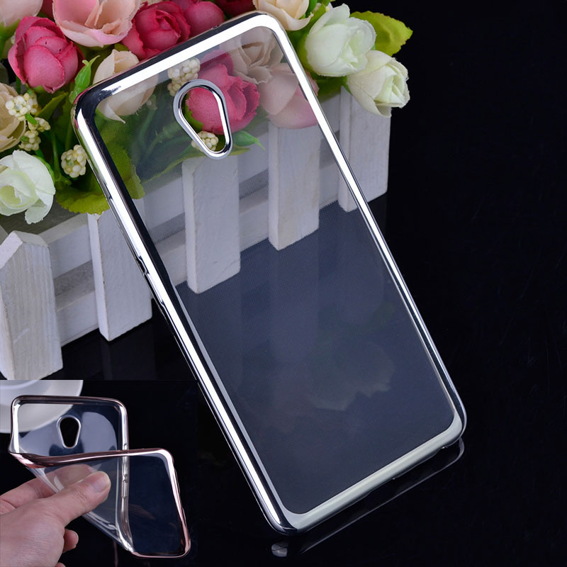 Meizu M5 Note Case 5.5'' Ultra thin Plating Crystal Clear Soft TPU Back Cover Meizu M5 Note / Meilan Note 5 Phone Cases
