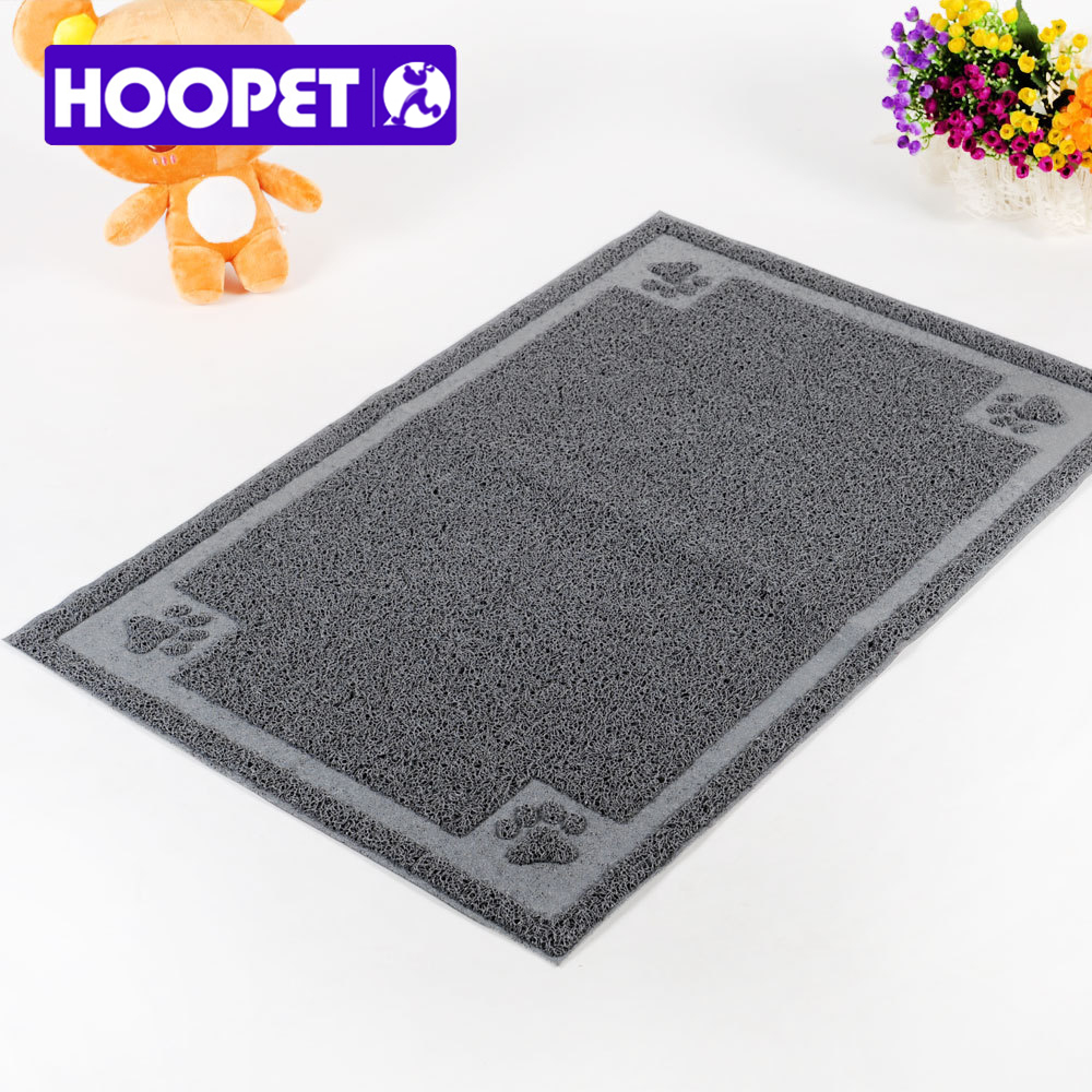 Hoopet free shipping Semi Circular Rectangle cat clean mat cat Sand Filtering Ottomans clean(China (Mainland))