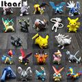 144Pcs For Pokemon Action Figures Toys Small Cartoon Anime Gifts For Children