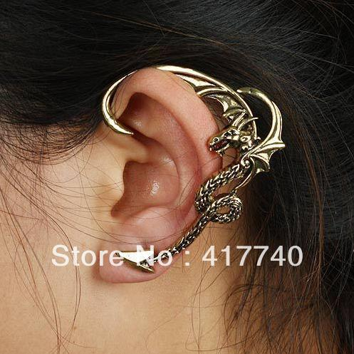 2016 Fashion Vintage Alloy Gothic Dragon Ear Cuffs For Sales(China (Mainland))