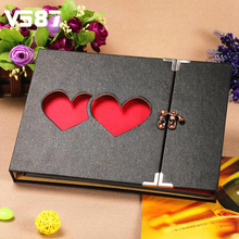 New DIY Photo Album all For Wedding Paper and Metal Gallery Retro Tools in Home Decoration