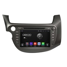Cortex A9 HD1024*600 Quad Core 1.6G CPU 16GB Android 5.1.1 Car DVD Player Radio GPS Navi Stereo for Honda New FIT 2009 2010 2011