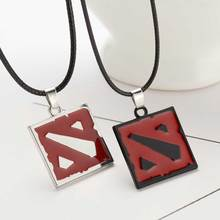 New 2016 Hot Network Game Dota 2 Pendant Necklace Europe America Women And Men Enamel Necklace Game Jewelry men's Gifts(China (Mainland))