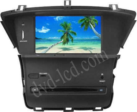 wholesale new car dvd player for Honda Odyssey 2011 Radio GPS Bluetooth Ipod HD LCD GPS navigation system head units(China (Mainland))
