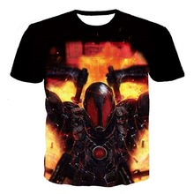 New Marvel Deadpool 3D Print T-shirt Cotton Unisex Tee Shirts Plus Size Short Sleeve Casual Homme Loose Summer Tops