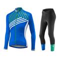 New Blue stripe 5 colors Winter Thermal Fleece Cycling Jersey Warm 2017 Pro Mtb Long Sleeve